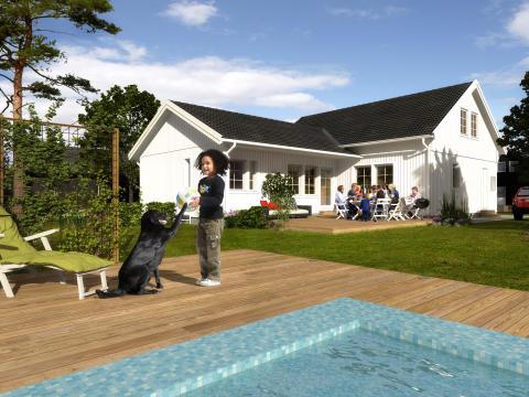 Älvsbyhus lanserar ny husmodell – en sagolik jubileumsmodell!