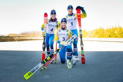 BRA fortsätter nå nya höjder med det alpina landslaget