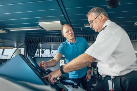 Stena Line introduserer AI-assisterte fartøy