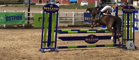 Ponnyryttare hoppas på drömvinst i Växjö