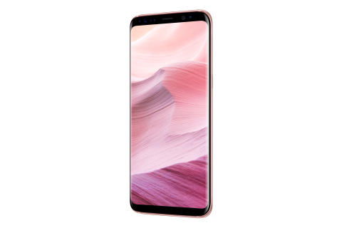 Galaxy S8 Rose Pink_Right