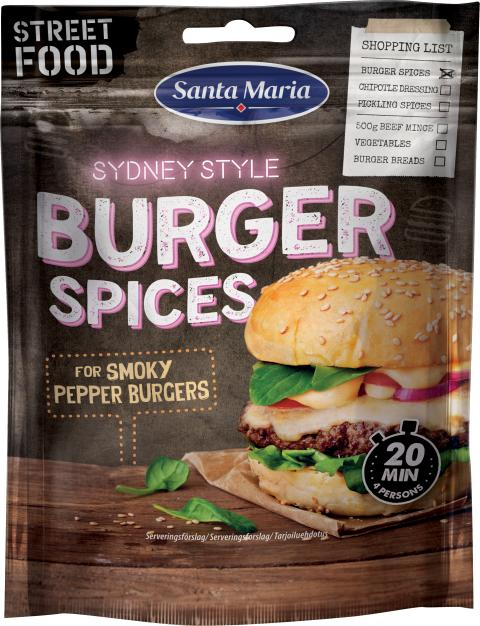 Santa Maria Burger Spices (Street Food)