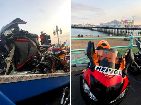 High-powered vehicles seized by police in Brighton
