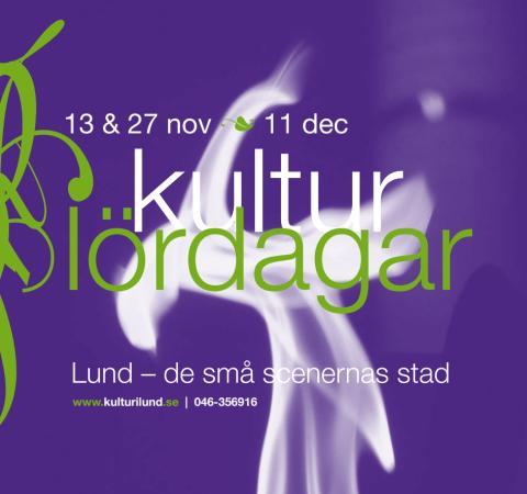Program Kulturlördag Höst 2010