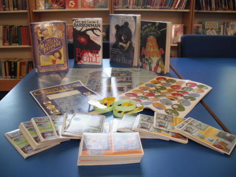 "Children's ""creepy"" library challenge during holidays"