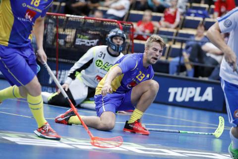 Kasper Hedlund ersätter skadad Anton Karlsson i VM