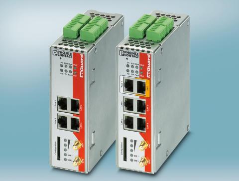 Sikkerhedsrouter med 3G mobilinterface
