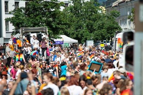 Ny Oslo Pride parade rekord