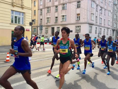 ASICS Stockholm Marathon nästa för nyblivne Boston Marathonvinnaren