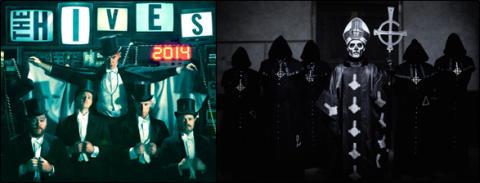 The Hives och Ghost avslutar Grönans konsertsommar