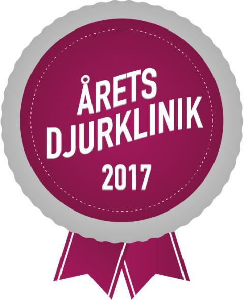 Årets djurklinik 2017