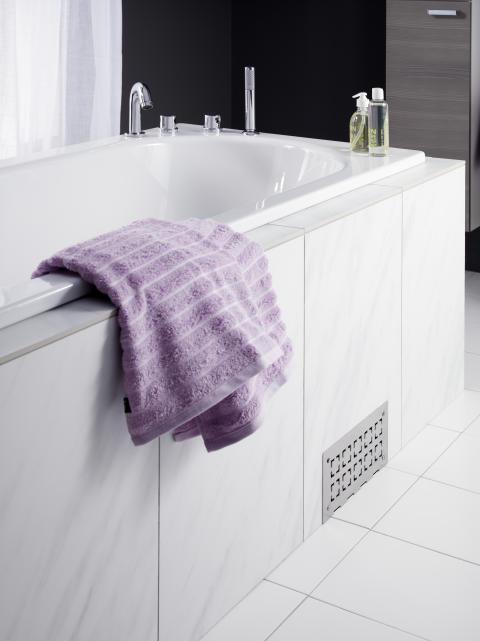 Inbyggda badkar – både snyggt och praktiskt