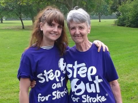 Cheshire Octogenarian takes stroke recovery in her stride