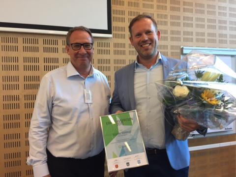 Scandic Glostrup modtager årets erhvervspris 2017 for at bidrage til et stort socialt ansvar i forhold til mennesker