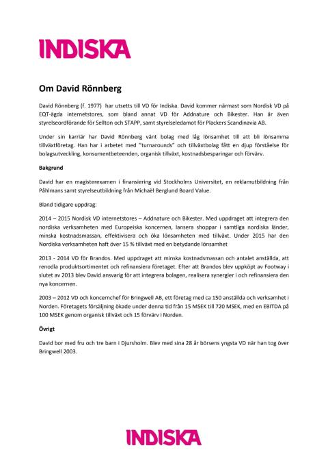 Om David Rönnberg