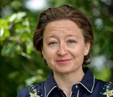 Dramatikern Gertrud Larsson är först ut!