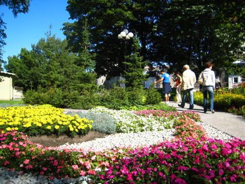 Snart blommar det i Estland