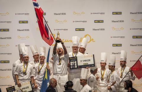 Norwegen gewinnt Bocuse d'Or 2018 Europe