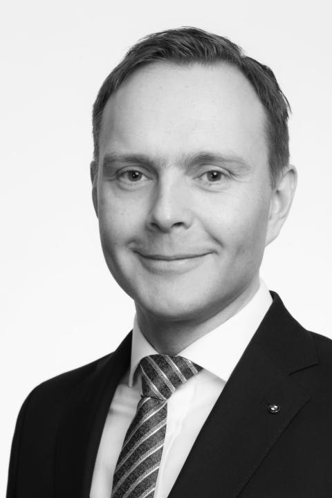 Carl Aspenberg, Managing Director BMW Financial Services Sverige.
