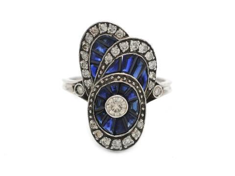 Klassiska 27 september, Nr: 60, RING, 18K vitguld, briljantslipad diamant