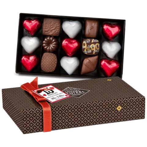 Chokladask med praliner - D'Amour