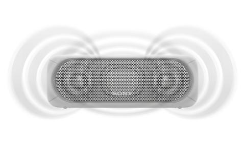SRS-XB30 von Sony_weiss_1