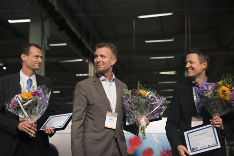 Herantis Pharma, Pelago Bioscience and Targovax receive Nordic Stars Award 2017 at NLSDays in Malmö