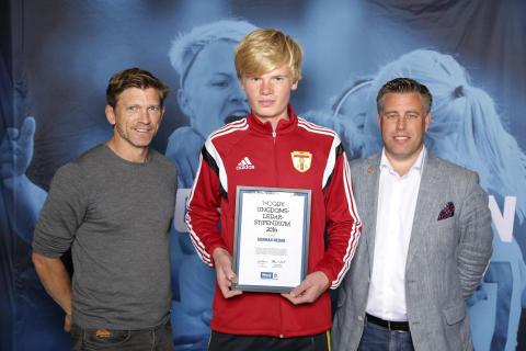Herman Nedar, Trollhättans BOIS. Här tillsammans med Jesper Blomqvist och Mikael Tykesson.