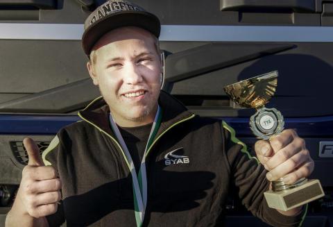 Felix Karlsson från Hultsfred vann kvaltävling till Yrkes-SM i Söderhamn