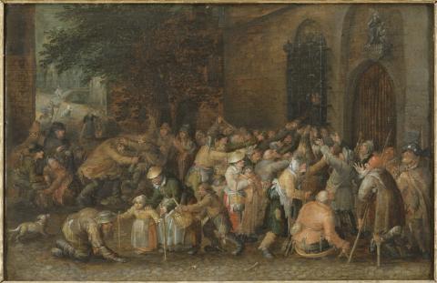 Tiggare i 1670-talets Stockholm