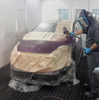 Apollo Motor Group spray booth