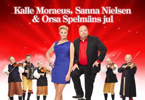 Kalle Moraeus, Sanna Nielsen och Orsaspelmän skapar julstämning