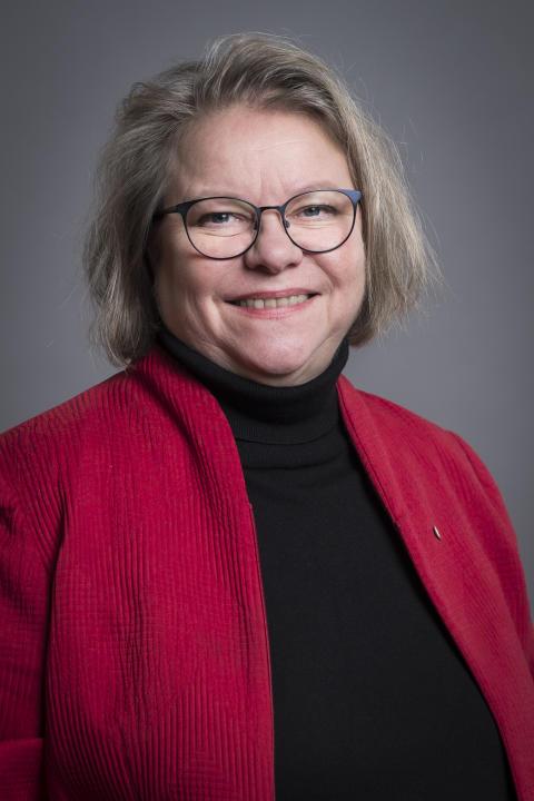 Denise Norström (S), regionstyrelsens ordförande i Region Västmanland.