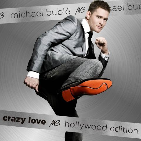 Michael Bublé släpper ny version av albumet Crazy Love (Hollywood Edition) idag!