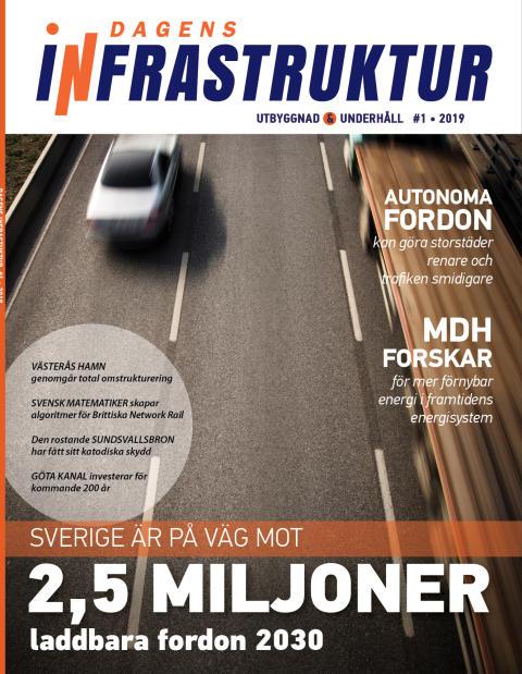 Nya numret av Dagens Infrastruktur nr 1 2019 ute nu!