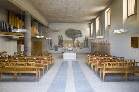 Skogskyrkogården/The Woodland Cemetery: Hoppets kapell/The Chapel of Hope