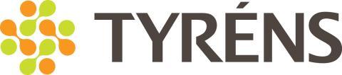 Tyréns nya logotyp - stor