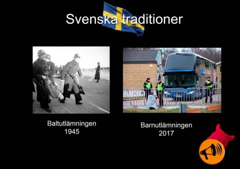 Sånt som vi svenskar skäms över
