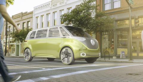 Volkswagens eldrivna I.D.-familj växer − nya I.D. BUZZ presenteras i Detroit