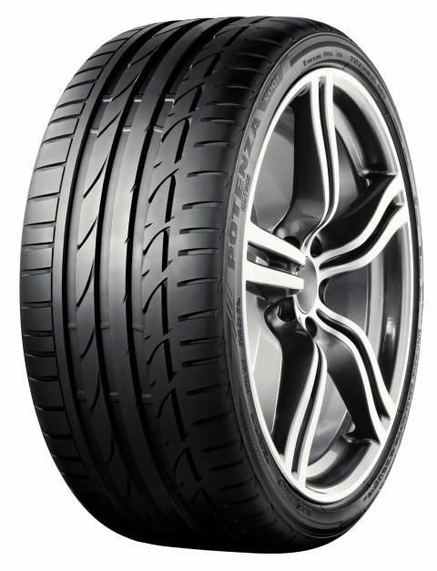 Bridgestone Potenza S001 utsågs till årets däck 2010 i Spanien