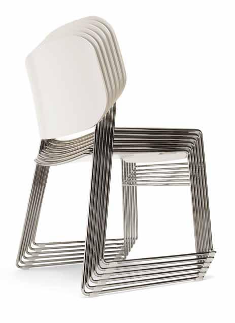LITE – en attraktiv, innovativ och rationell stapelbar stol från OFFECCT