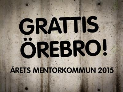 Örebro blir årets Mentorkommun
