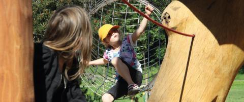 Pressinbjudan: Närboende får tycka till och ge idéer om lekplatser
