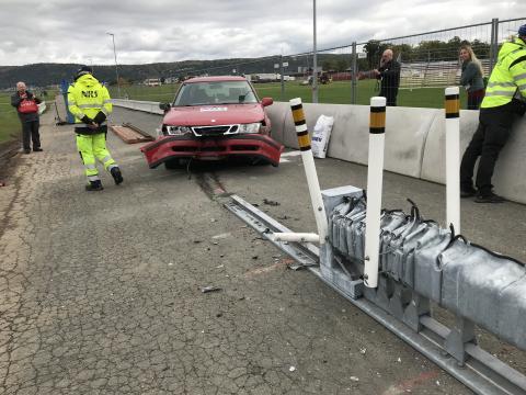 Unique crash tests at the fair