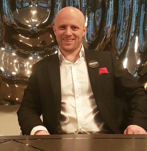 Kristofer Eastwood ny direktør på Clarion Collection Hotel Bryggeparken
