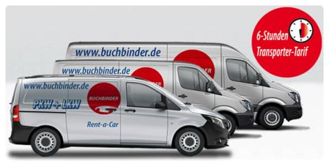 jetzt buchbinder rent a car transporter ab 3 75 euro pro. Black Bedroom Furniture Sets. Home Design Ideas