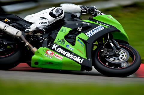 Kawasaki Sverige laddar för Pro Superbike 2012