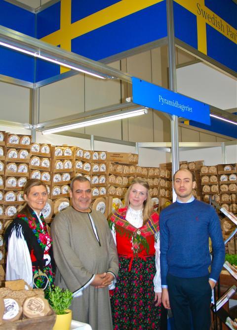CloseUp PR samarbetar med svenska paviljongen på Storbritanniens största mat- och dryckesmässa