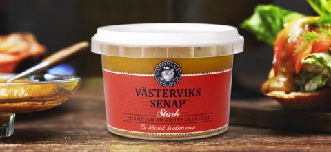 Västerviks senap® tog silvermedalj i Senaps-VM!