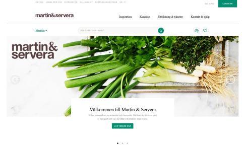 Martin & Servera lanserar ny plattform för digital kommunikation och e-handel